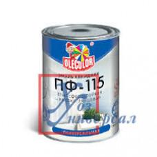 Эмаль OLECOLOR ПФ-115 1,8кг алк. светло-фиолетов (Фарбен) /6/