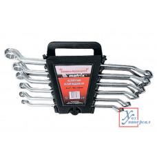 Ключи накид.MATRIX C-RV 6-17мм полиров хром 6шт/15331