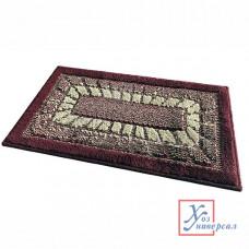 Коврик Mozaic универсальный  45*75 см бордовый