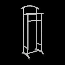 Вешалка костюмная Стиль-3 цвет белое серебро ВНП 300 БС