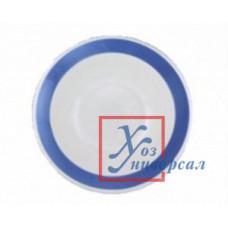 Фаянс 056 тарелка мелкая Соли синие 200мм