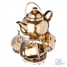 Чайный набор 13 пр. Farfalle Веттин с чайником 220мл фарф. 821-395