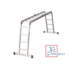 Лестница алюм. трансформер Ufuk 2х5 + 2х4(вес 15,1кг)