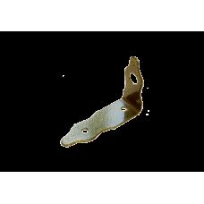 Проушина Домарт угловая фигурная 145*100*50 бронза антик