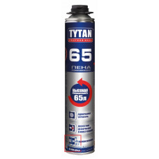 Пена монтажная проф. TYTAN 65 750мл. /12/672
