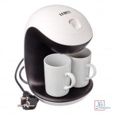 Кофеварка капельная LEBEN 350 W 2 кер.чашк. 0,3 л 286-021