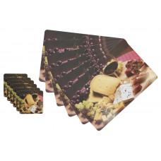 Салфетки для сервировки ЕН Аристократ и подст под чаш набор 6+6шт 43х28см и 9,5*9,5см/3/8445