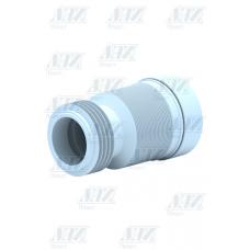 Слив для унитаза  Ани гофр.230-500мм К828R с выпуском 110 мм /20/