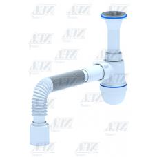 Сифон Ани C2010 1 1/4*40 лит.вып.с гибк.труб.40*50 /30/