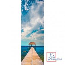 Наклейка FOT-1004 Дом у моря