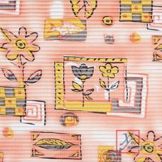 Коврик универс.ПВХ 0,65 х 15м 7015 Цветы