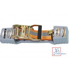 Резинки багажные STELS с крюками, 0,38х10м, храповый механизм Automatic /54366