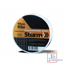 Сетка стеклотканевая STURM самоклеющаяся 48мм*153м