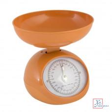 Весы кухонные мех.с пластик.чашей 5 л до 5 кг 3 цвета 487-011