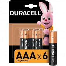 Элемент Duracell LR03 BL 6 по 2шт /14/