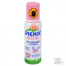 Аэрозоль Piknik Baby от комаров и клещей 125см3 961-007