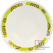 Фаянс 055 тарелка глубокая Африка 200мм,450мл