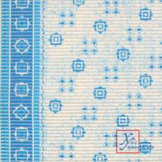 Коврик универс.ПВХ 0,65 х 15м 7016 Голубой с бордюром