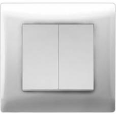 Выключатель Volsten Solar 2 ОП V01-31-V21-S бел../10/