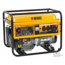 Генератор бенз. DENZEL GE 7900, 6,5 кВт, 220В/50Гц, 25 л, ручной старт/94638