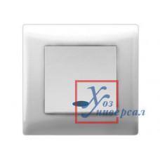 Выключатель Volsten Magenta 1 СП V01-11-V12-S бел..с инд. /10/