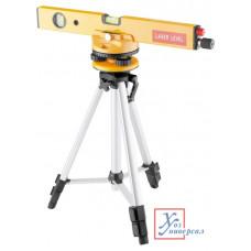 Уровень лазерный MATRIX 400мм,1050мм штатив 3глаз. /35029