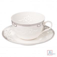 Чайный набор 4 пр. 270 мл Виконт тонк.фарф.подар.уп. 821-461