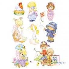 Наклейка RСA 2002V Дети