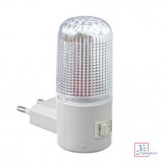 Светильник-ночник LED4  с выкл.пластик 920-014