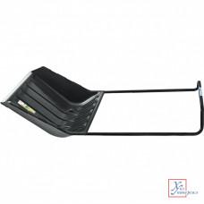 Скрепер для снега PALISAD 640х700*1520,металл.изог.черен.,пласт.ковш,колеса/61559