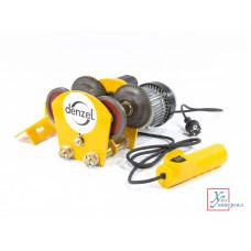 Каретка электрическая для тельфера DENZEL T-1000, 1 т, 540 Вт /52009