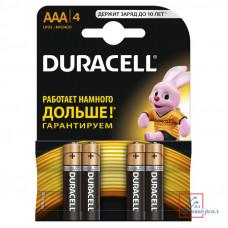 Элемент Duracell LR03 BL4шт