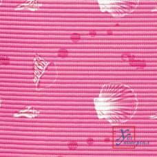Коврик универс.ПВХ 0,65 х 15м 6182А ракушки на розовом