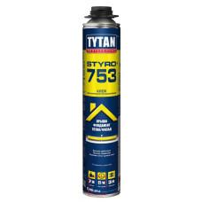 Клей-пена д/теплоизоляции TYTAN Styro 753  750мл/12/