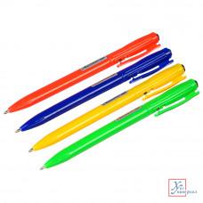 Авторучка шариковая синяя 0,7 мм пластик 626-002