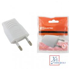 Вилка б/з 10А 250В прямой вывод проводн. TDM SQ1806-0089