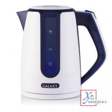 Чайник эл.Galaxy GL-0207 1,7 л 2200 Вт диск синий /12/