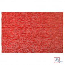 Салфетка сервировочная Vetta ПВХ 30*45 см Узор красный 890-288