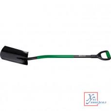 Лопата POLISAD универсальная металлический черенок, прямоугольная/61405