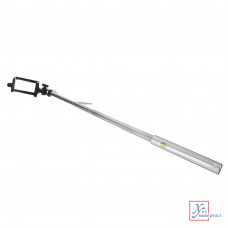 Палка для селфи FORZA 18-75 см метал пластик серебр. цв 470-003