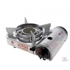 Плита газовая портативная LOTOS CERAMIC (TR-350) без кейса