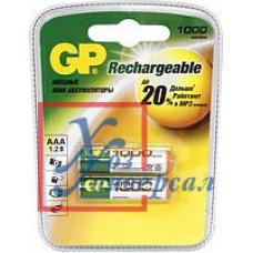 Аккумулятор GP R03 100 AAAHC BL2шт