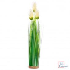 Декоративный цвето Зеленая коллекция, пластик, 46 см, 6 цветов, арт 1507-4 501-416