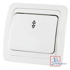 Выключатель TDM Валдай 1 СП 10А 220В белый перекл. на 2 направ. SQ1804-0003 /10/