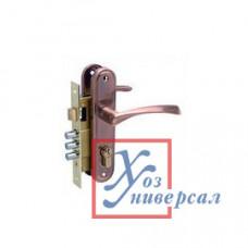 Замок врезной БУЛАТ ЗВ 4-3.60.03.02 Номос медь