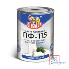 Эмаль OLECOLOR ПФ-115 1,8кг алк. зеленая (Фарбен) /6/