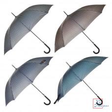 Зонт мужской трость метал полиэстер 10 спиц 65 см 4 цвета302-273